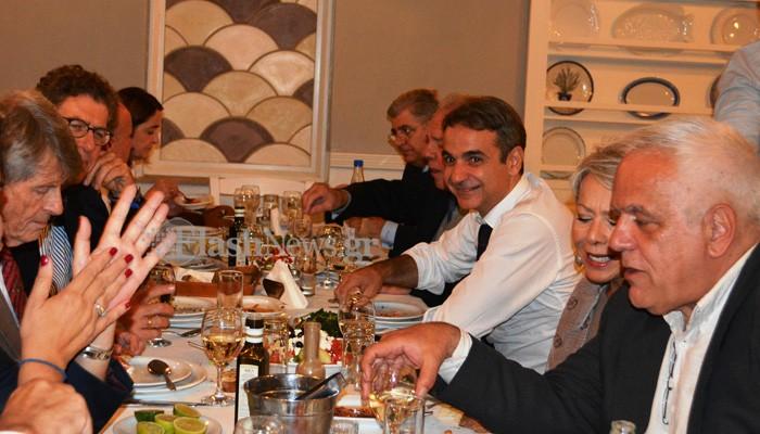 Το τραπέζι στην ψαροταβέρνα με τον Κ.Μητσοτάκη και η εξήγηση του σερβιτόρου