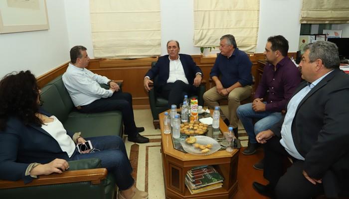 Tο Τοπικό χωροταξικό σχέδιο Μινώα Πεδιάδας σε συνάντηση με τον Γ.Σταθάκη
