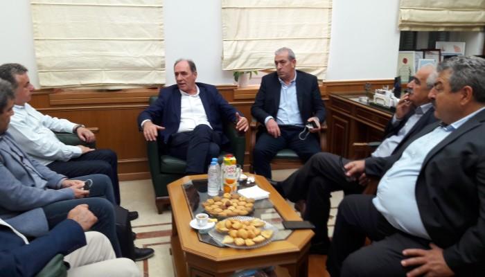 Η διασύνδεση της Κρήτης στο επίκεντρο της συνάντησης με Σταθάκη
