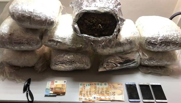Πάνω από 20 κιλά χασίς στα Χανιά - Επιτυχία της Δίωξης Ναρκωτικών