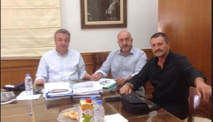Στο επίκεντρο συνάντησης αναπτυξιακά έργα του δήμου Σφακίων