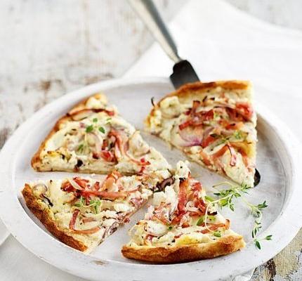 Τarte flambé, η αλσατική πίτσα