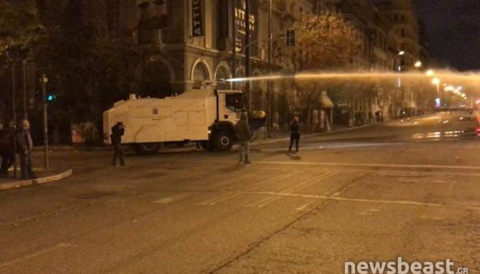 Ανέλαβαν δράση οι «αύρες» της αστυνομίας κατά των μολότοφ