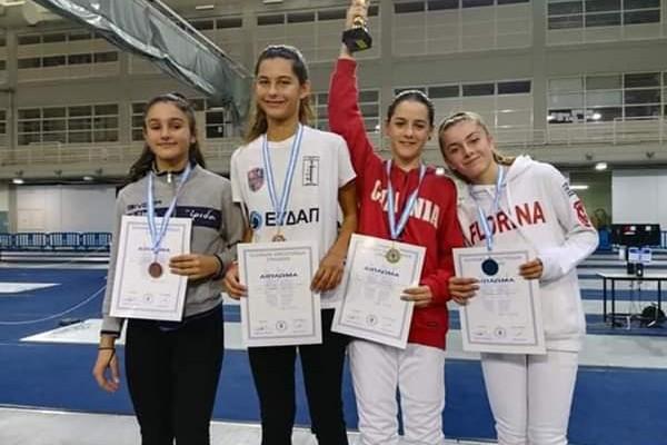 Ένα κύπελλο και δύο μετάλλια για την Αθλητική λέσχη ξιφασκίας Χανίων