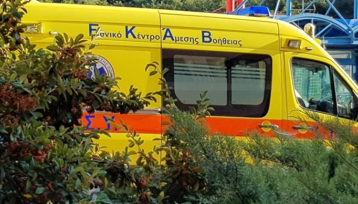 Ηράκλειο: Ανατροπή οχήματος στο Κακό Όρος
