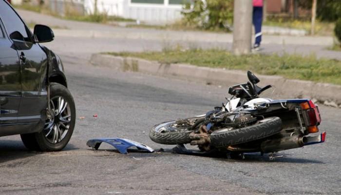Τροχαίο ατύχημα στον ΒΟΑΚ στο ύψος του Γεροποτάμου - Τραυματίστηκε δικυκλιστής