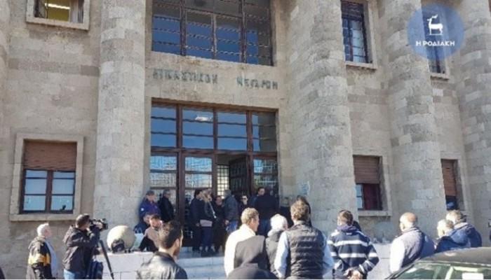 Έγκλημα στη Ρόδο: Ολοκληρώθηκαν οι καταθέσεις των κατηγορουμένων