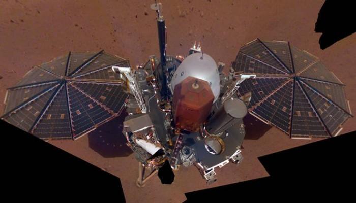 Η πρώτη «selfie» του InSight στον Άρη