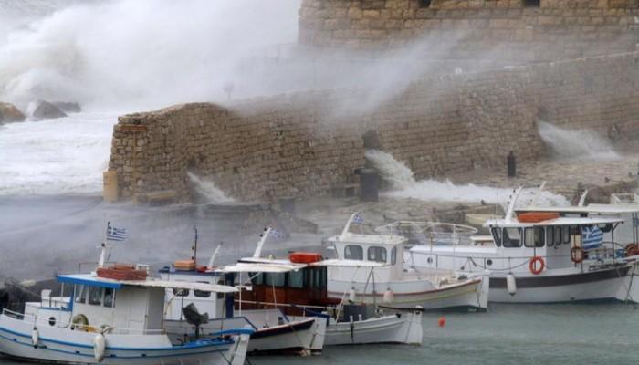 Προειδοποιεί το Λιμεναρχείο Ηρακλείου του ιδιοκτήτες σκαφών λόγω καιρού