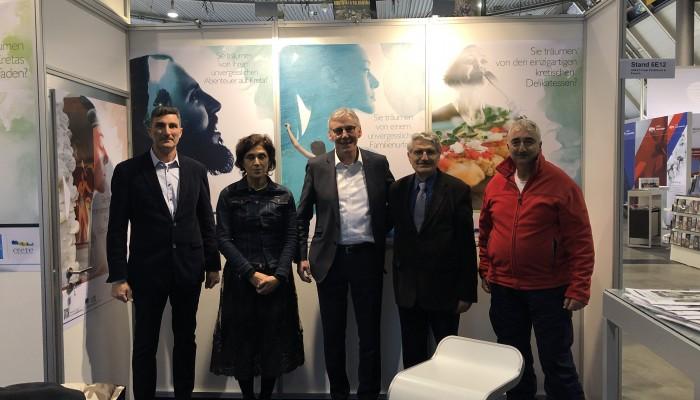 Η Κρήτη συμμετείχε στην έκθεση τουρισμού της Στουτγάρδης
