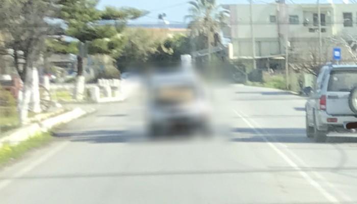 Τα έχετε δει όλα στους δρόμους των Χανίων; Νομίζετε... (φωτο)