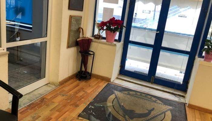 Διάρρηξη στα γραφεία του ΝΟ Χανίων (φωτο)