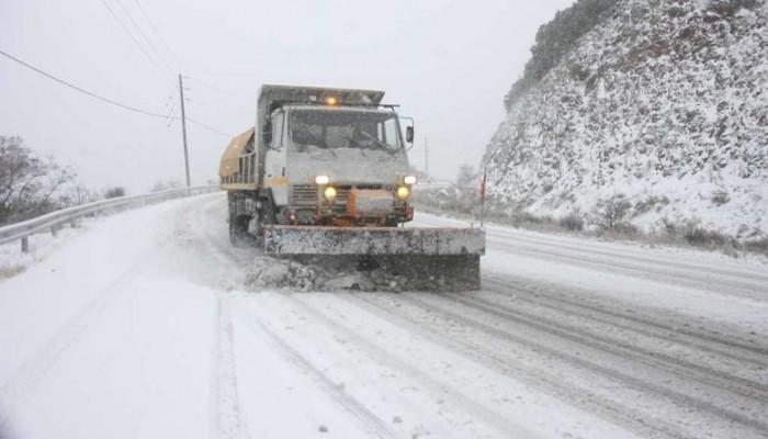 Απαγόρευση κυκλοφορίας σε επαρχιακό δρόμο στο Ρέθυμνο λόγω χιονιά