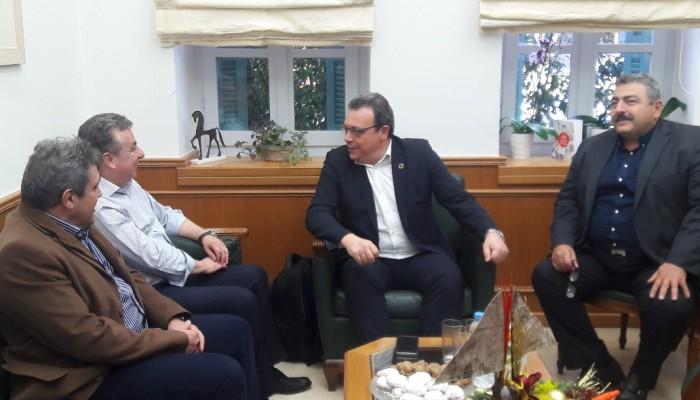 Στο Ηράκλειο ο Αναπληρωτής Υπουργός Περιβάλλοντος Σωκράτης Φάμελλος