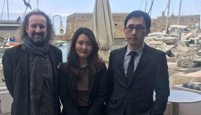 Συνάντηση Γκαραντσίνι με αξιωματούχους του Jeju της Νοτίου Κορέας