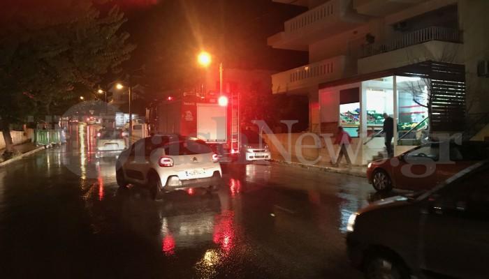 Έκρηξη σε σπίτι στα Χανιά  (φωτο)