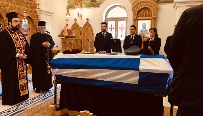 Στην Γεωργιούπολη, το ύστατο χαίρε στον Γεώργιο Παπαδάκη (φωτο)