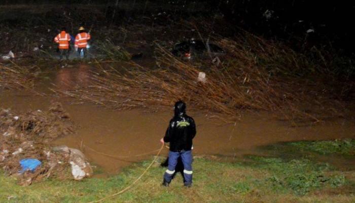 Βρέθηκε ο οδηγός του αυτοκινήτου που εντοπίστηκε μέσα στον ποταμό Ξεριά