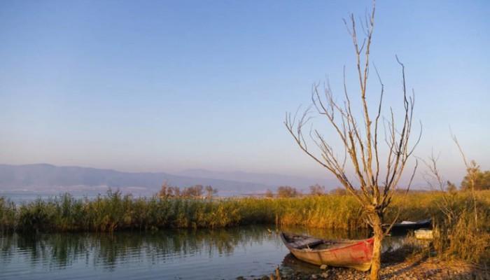 Όμορφες εικόνες από τη μεγαλύτερη λίμνη της Μακεδονίας