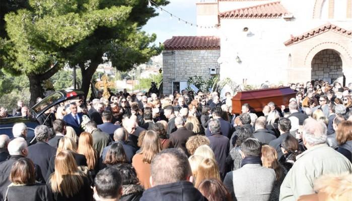 Οι συγκινητικοί επικήδειοι στην κηδεία του Θέμου Αναστασιάδη