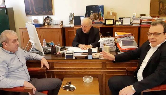 Τι συζήτησαν ο Δήμαρχος Ηρακλείου με τον Αναπληρωτή Υπουργό Περιβάλλοντος