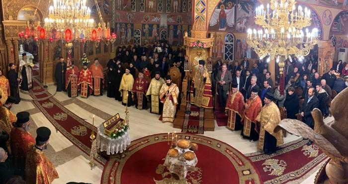 Η Κίσαμος εόρτασε τον Όσιο Νικηφόρο τον Λεπρό (φωτο)