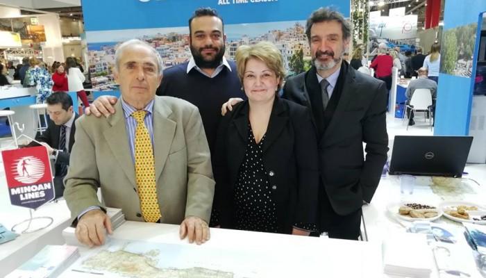 Πετυχημένη η παρουσία της Περιφέρειας Κρήτης στην έκθεση της Βιέννης