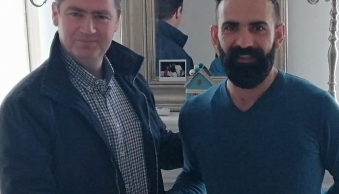 Υποψήφιος με τον Γιάννη Σέγκο ο Γιώργος Μπαγουράκης