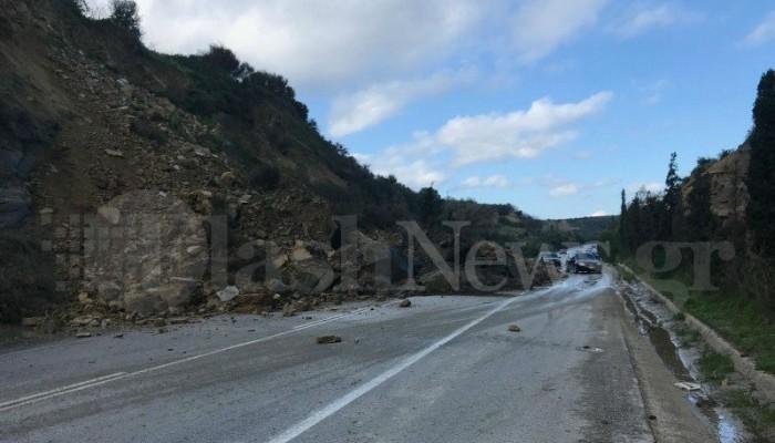 Κλείνει η εθνική οδός Χανίων - Κισάμου με απόφαση της ΕΛ.ΑΣ.