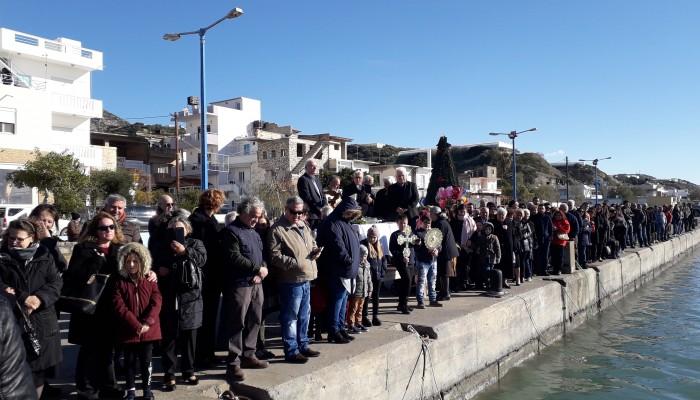 Αγιασμός των υδάτων στον Δήμο Βιάννου (φωτο)