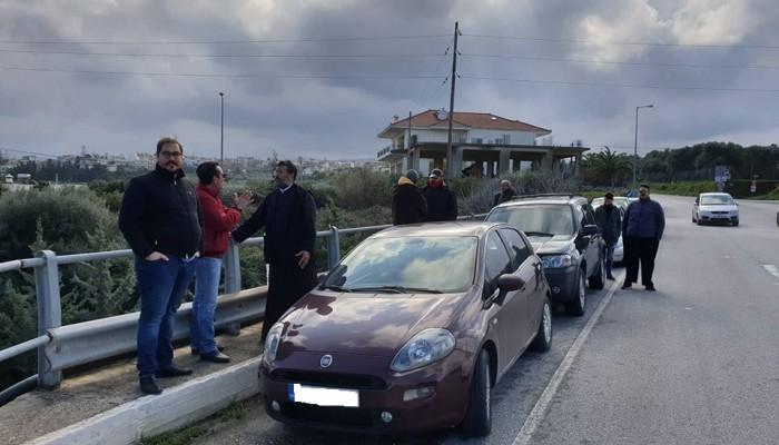Η κατολίσθηση στο Σταλό έβγαλε πολίτες στο δρόμο για τον ΒΟΑΚ (βίντεο)