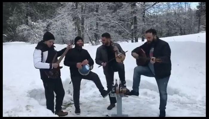 Όταν οι Κρητικοί δεν.... χαμπαριάζουν από χιόνι (βίντεο)