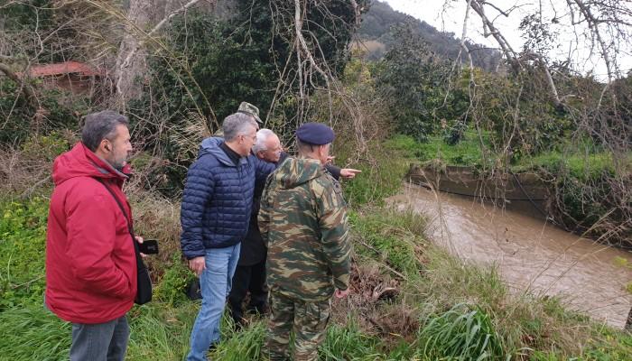 Ο Μανούσος Βολουδάκης επισκέφθηκε τις πληγείσες περιοχές των Χανίων (φωτο)