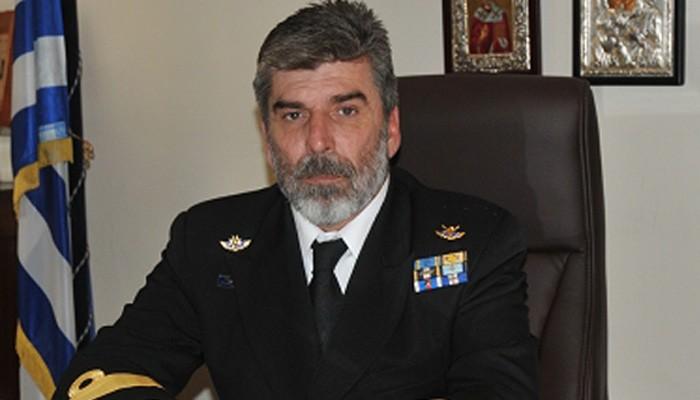Αποστρατεύεται ο Διοικητής του Ναυστάθμου Κρήτης