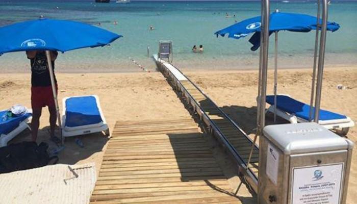 Χρηματοδότηση 218.000€ για πρόσβαση ΑΜΕΑ σε 4 παραλίες του Αγ.Νικολάου