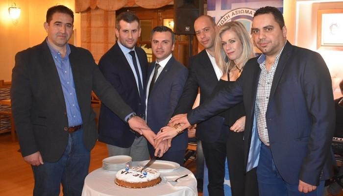Κρήτη: Έκοψαν την πίτα τους οι αξιωματικοί της ΕΛΑΣ (φωτο)