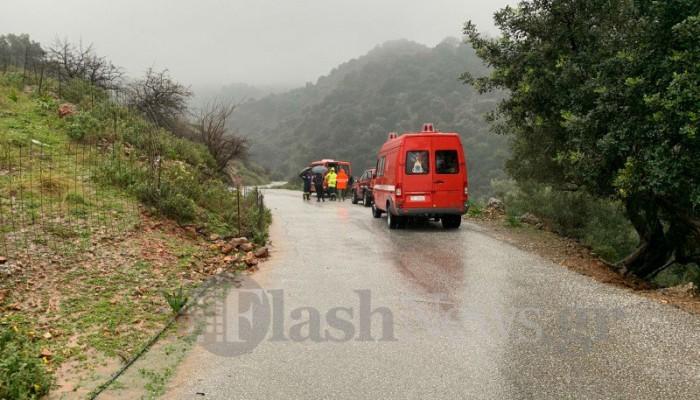 Σε μια ημέρα 28 επιχειρήσεις της πυροσβεστικής για διάσωση ατόμων στην Κρήτη