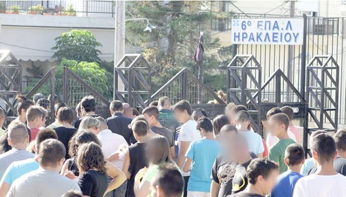 Θα στηθεί μνημείο για τους αδικοχαμένους σε τροχαία μαθητές στο 6ο ΕΠΑΛ Ηρακλείου