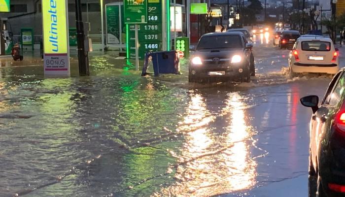 Αιτήσεις γνωστοποίησης ζημιάς από πλημμύρα στα γραφεία της Δ.Ε. Θερίσου