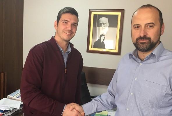 Συνάντηση υποψήφιου Περιφερειάρχη Κρήτης με τον Δήμαρχο Κισσάμου