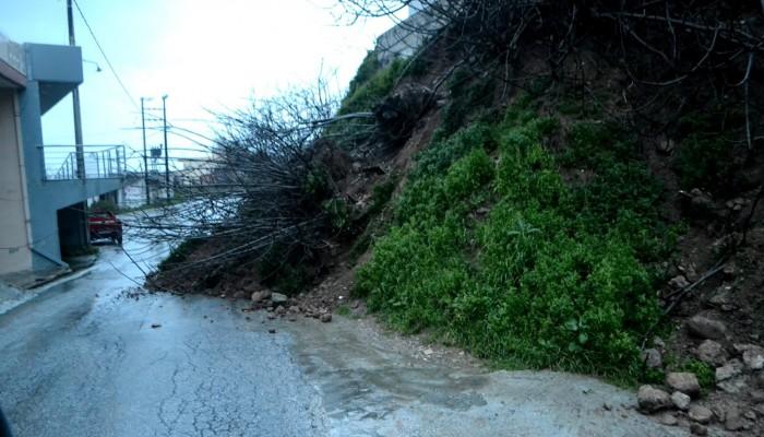 Δήλωση ζημιών από πληγέντες της θεομηνίας στο δήμο Κισσάμου
