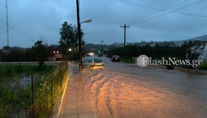 Χανιά: Αυτή τη βροχή θα τη θυμόμαστε για καιρό - Τα στατιστικά για τη βροχόπτωση της 14/2
