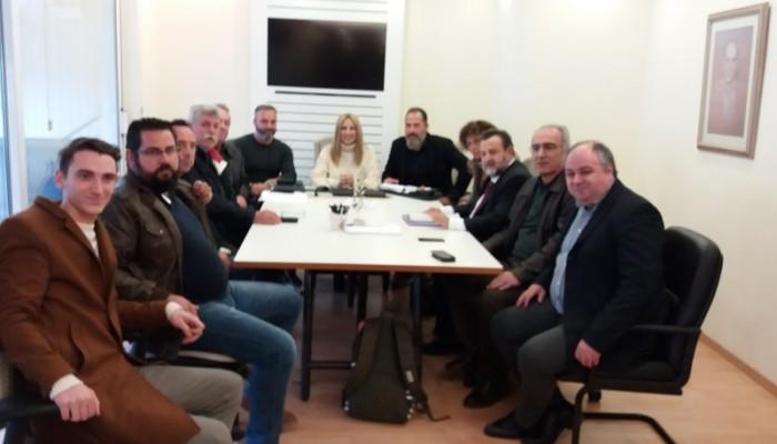 Συνάντηση της ηγεσίας του ΚΙΝΑΛ με επίκεντρο τα αγροτικά προβλήματα της Κρήτης