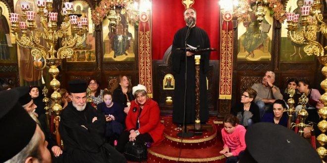 Η ομιλία του π. Ανδρέου Κονάνου στον Αγ. Χαράλαμπο Λενταριανών (φωτο-βίντεο)