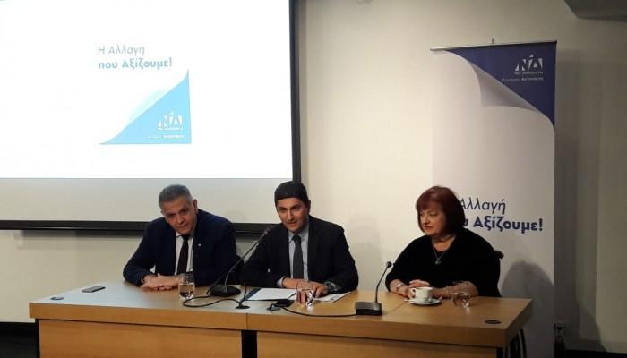 Αυγενάκης: Η επόμενη Κυβέρνηση της ΝΔ θα οδηγήσει την Κρήτη, στο μέλλον που μας αξίζει