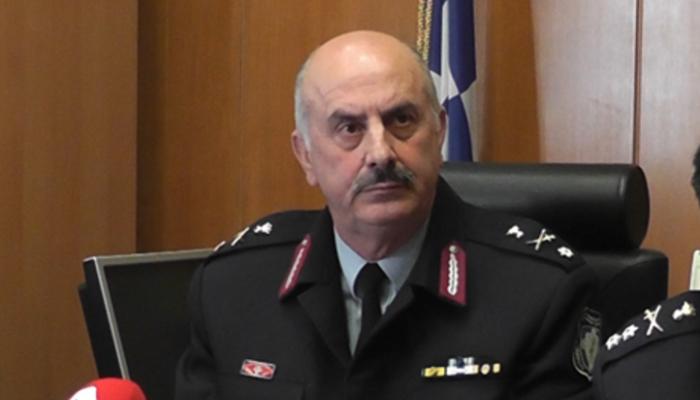 Για τρίτη χρονιά στο τιμόνι της Αστυνομίας Κρήτης ο Κωνσταντίνος Λαγουδάκης