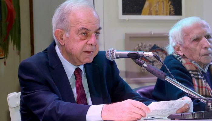 Ο Βασίλης Λαμπρινός υπέρ του Συμφώνου για το Κλίμα και την Ενέργεια