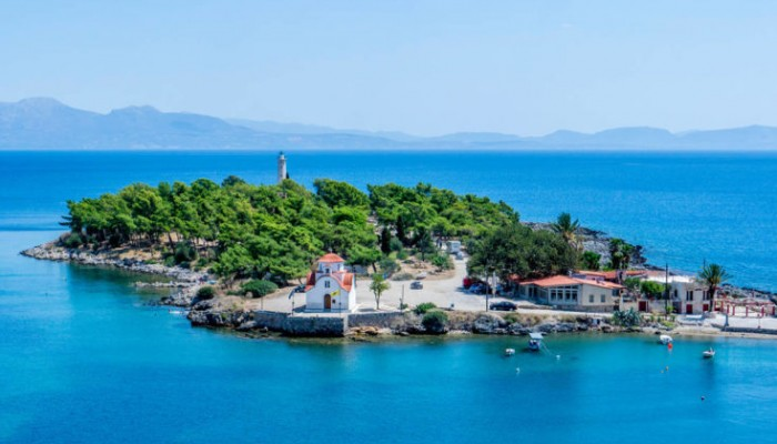 Το νησάκι που αποτέλεσε το κρησφύγετο του Πάρη και της Ωραίας Ελένης