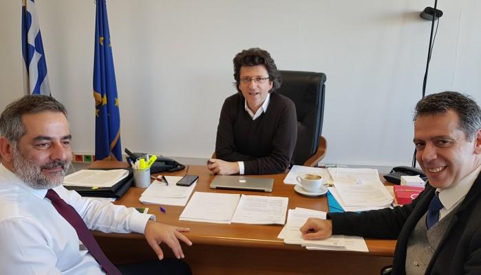 Τι ζήτησε σε συναντήσεις σε Υπουργεία ο Δήμαρχος Οροπεδίου Λασιθίου