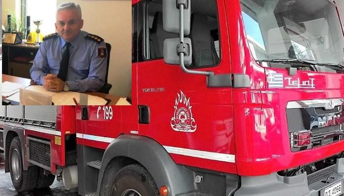 Ο Ν. Λαγουδάκης νέος Διοικητής της Πυροσβεστικής Κρήτης